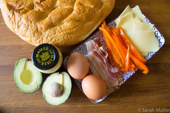 Frühstück Sandwich-1
